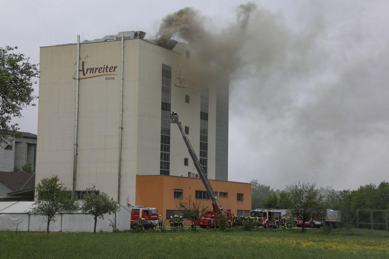 Großbrand in Wallern a.d.T.