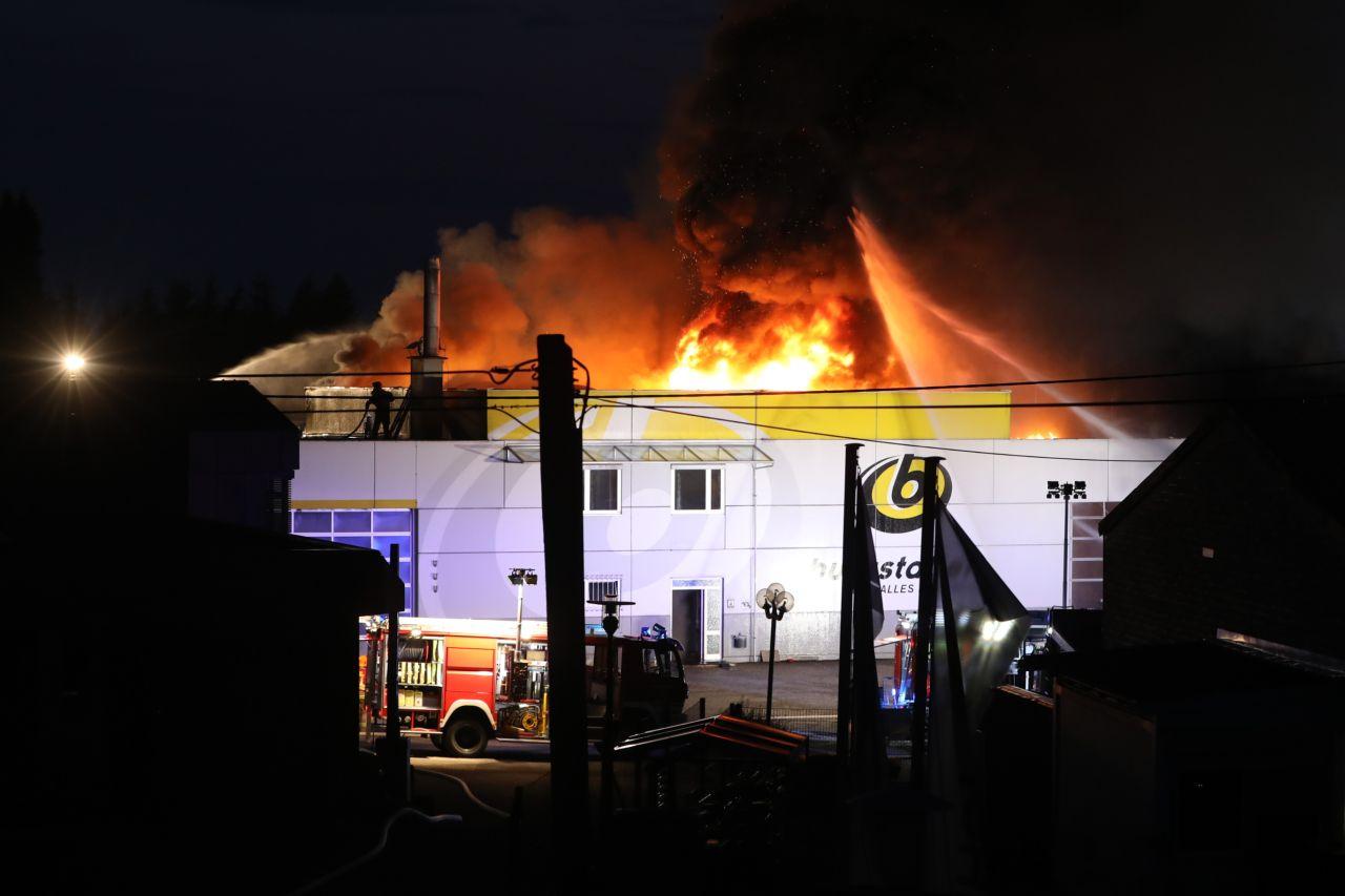 Großbrand in Haag