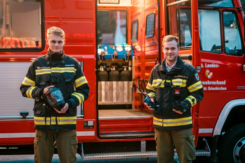 Neue Ausrüstung für Atemschutzstützpunkt Grieskirchen